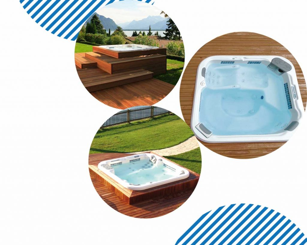 jacuzzi home spas outside your home near tempe chandler phoenix tempe gilbert queen creek